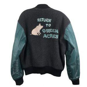 Return To Green Acres Movie Promo Cast Crew Jacket